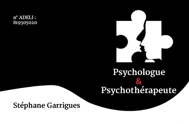 Carte de Visite Psychologue & Psychothérapeute
